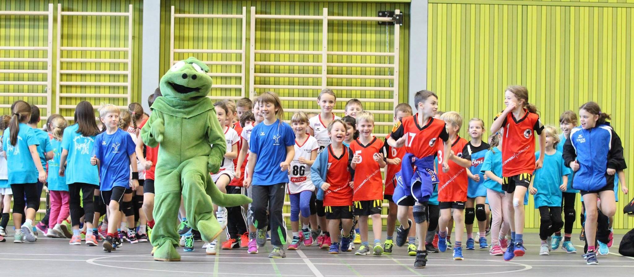 Nationaler Kids Volley Spieltag in Malters